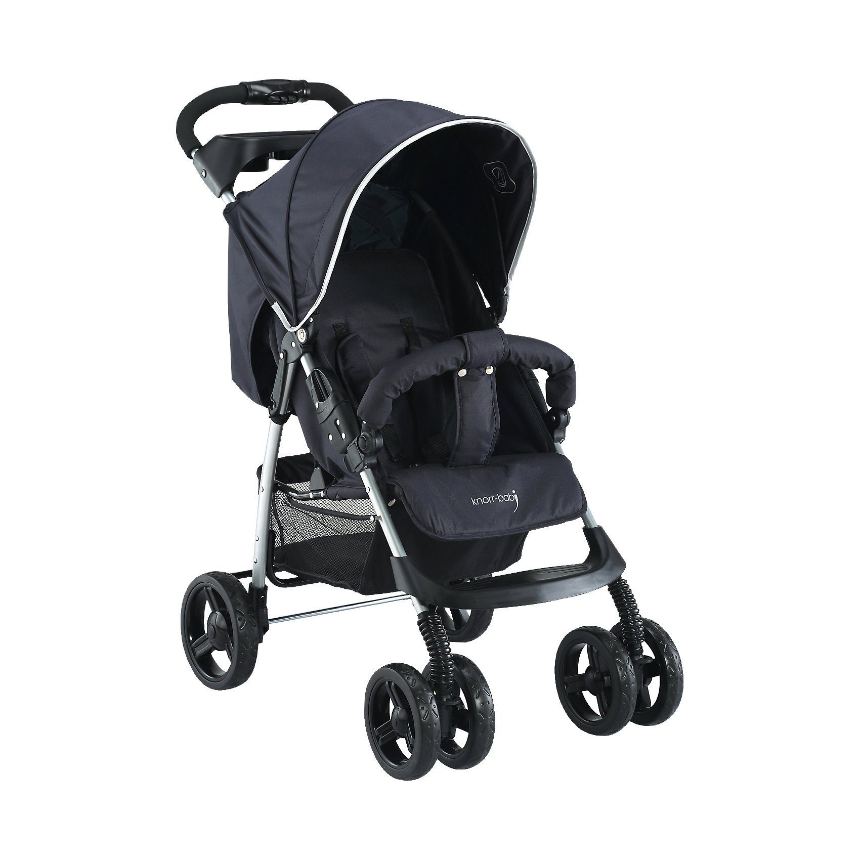 knorr-baby Sportwagen V-Easy Fold Happy Colour, schwarz